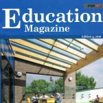 Education magazine cover