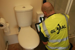 surveyor bathroom