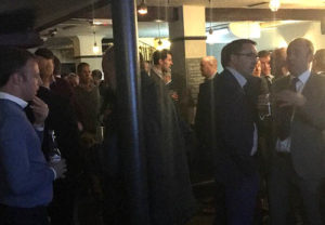 networking at the thameside